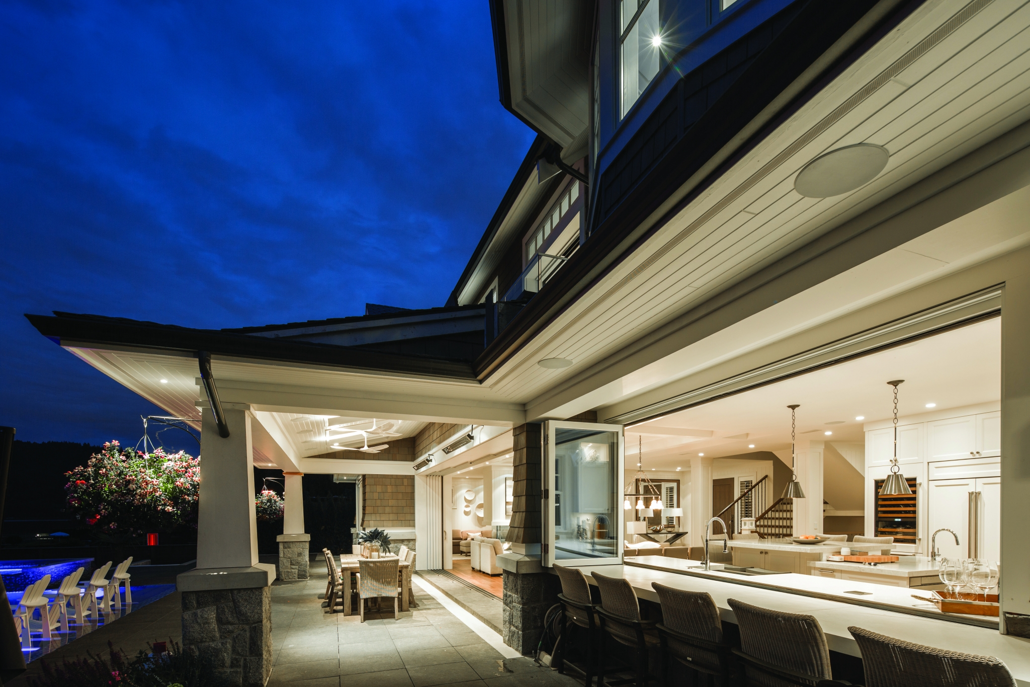Architect: Alex Voth Builder: Westpeak Developments Interior Design: Janet Scagel City & State: Vancouver, BC Distributor: Kolbe Gallery Vancouver
